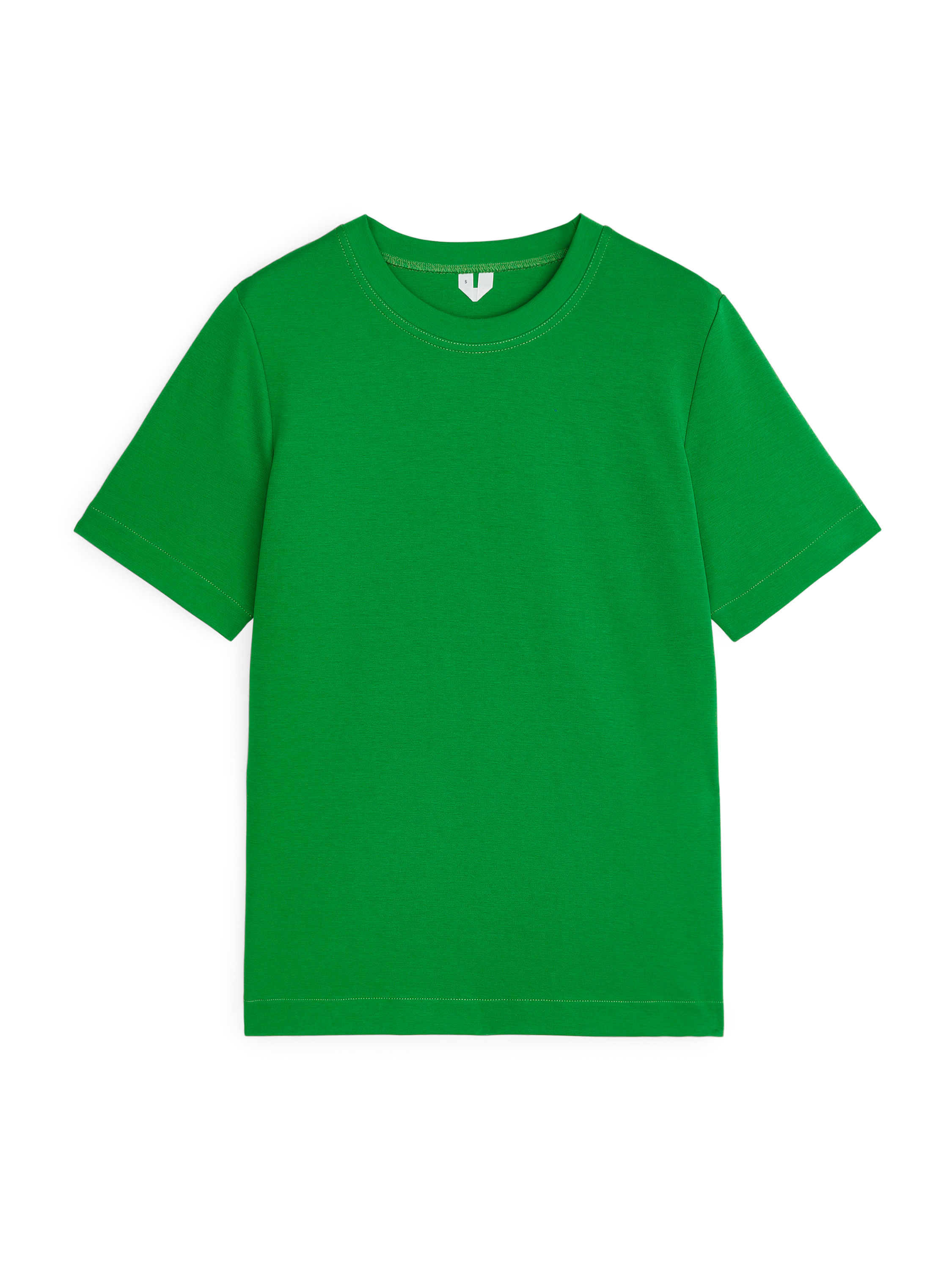 Fabric Swatch image of Arket heavy-weight t-shirt in green