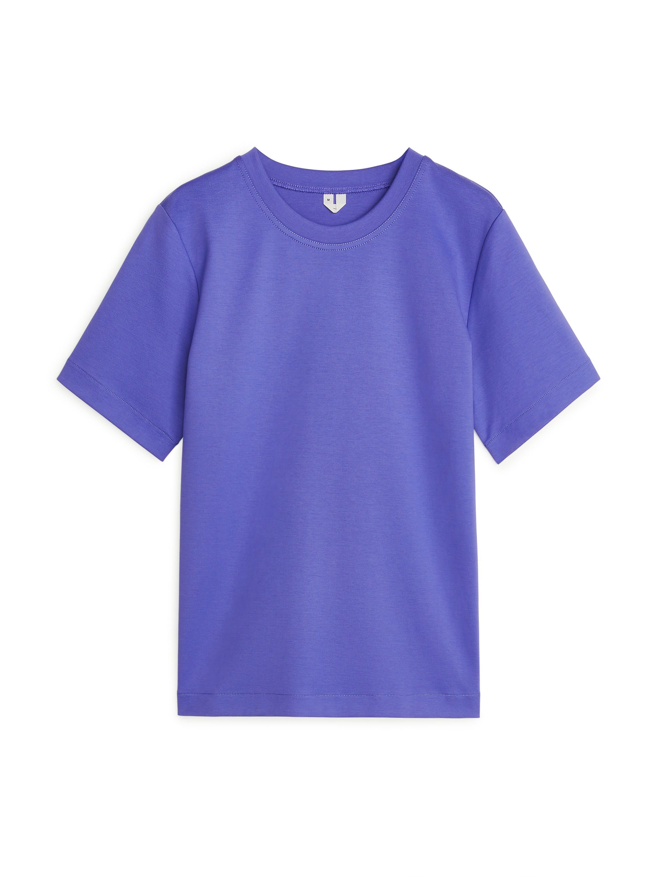 Fabric Swatch image of Arket heavy-weight t-shirt in blue