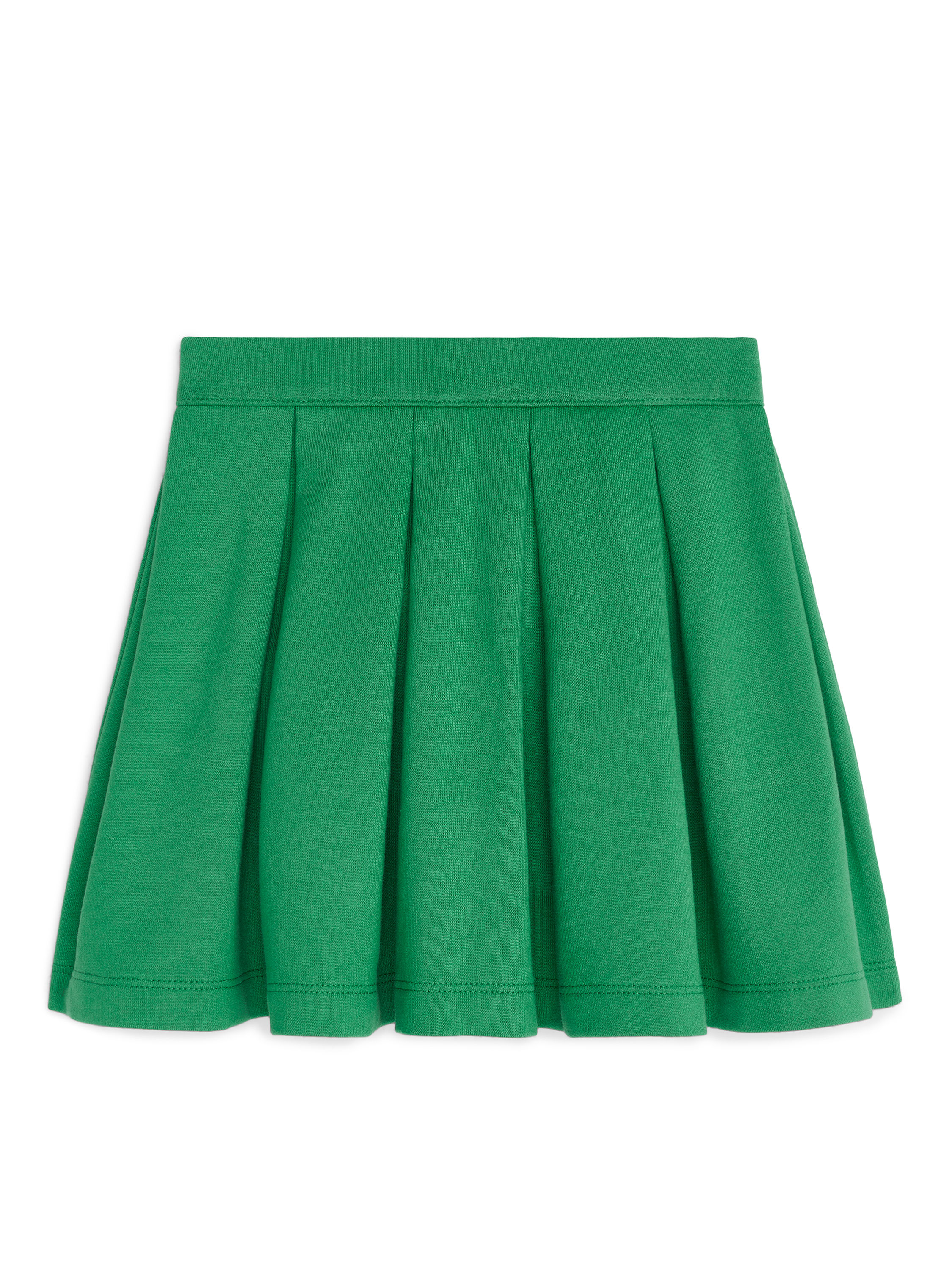 Fabric Swatch image of Arket french terry skirt in green