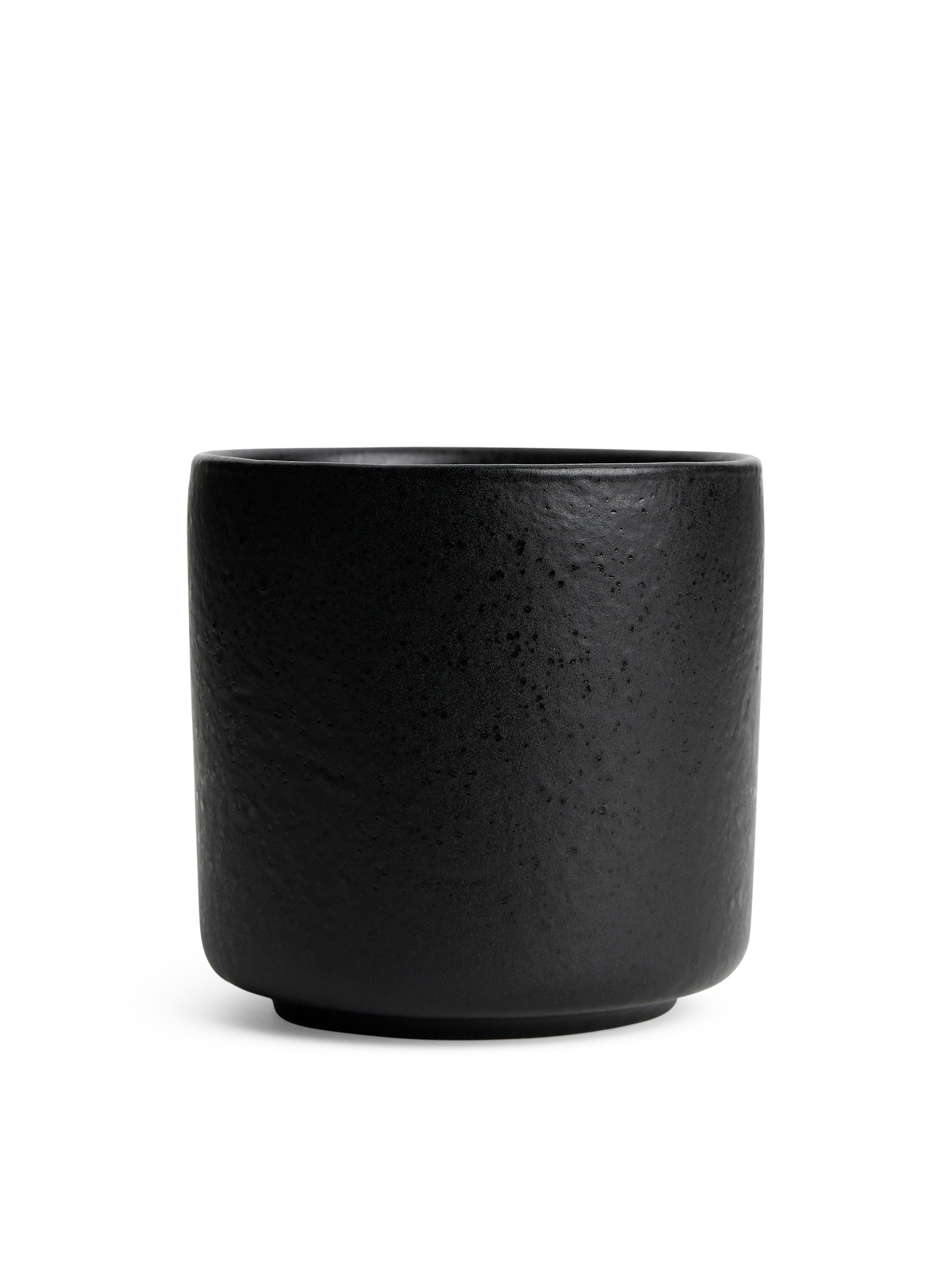 Fabric Swatch image of Arket no img-stoneware coffee cup 7,2 cm in black