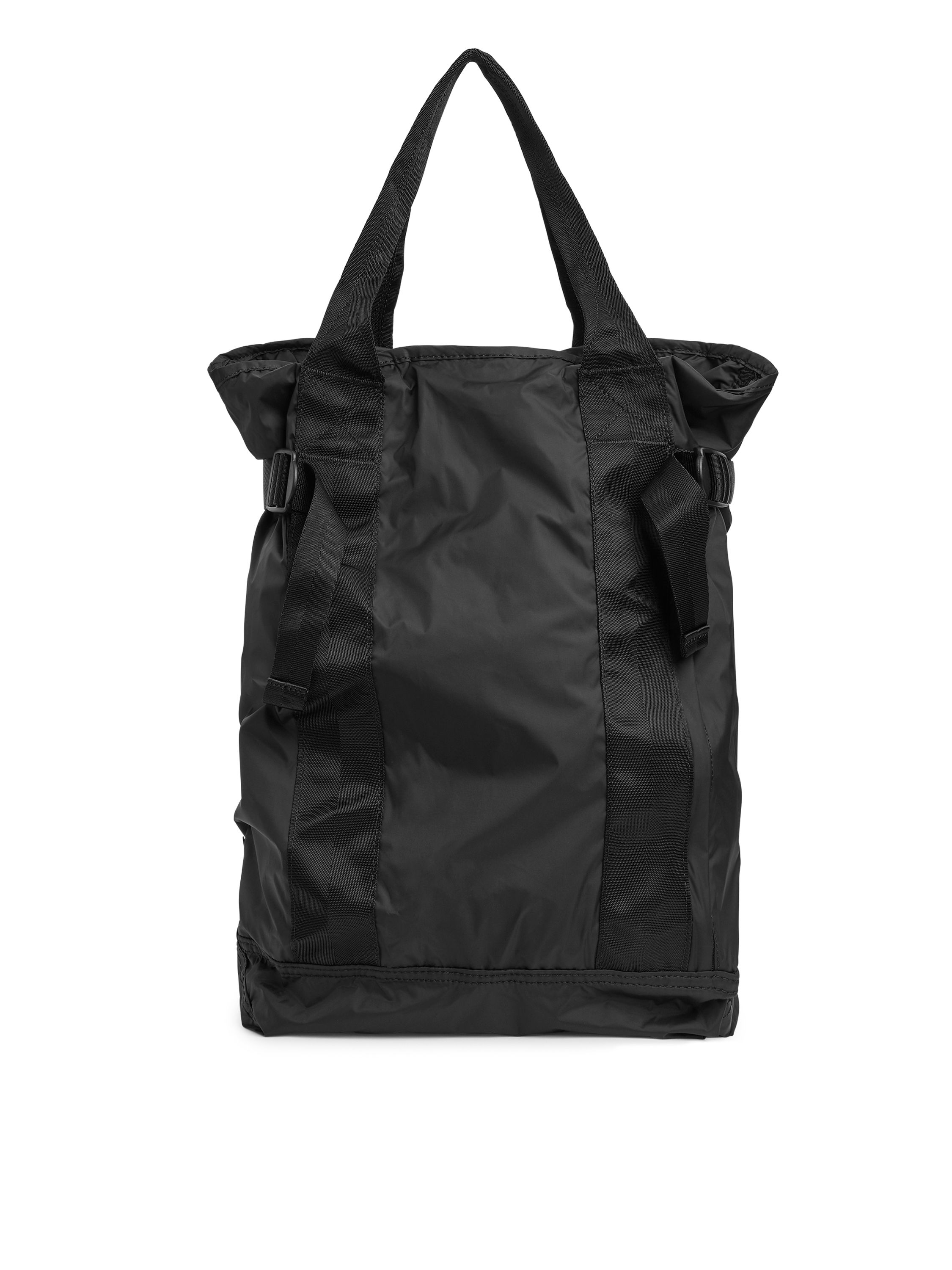 Fabric Swatch image of Arket packable 2-way backpack in black